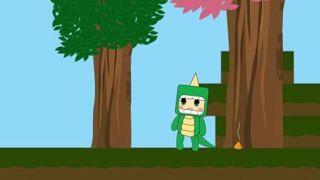 迷你世界小表弟动画16:大表哥的金斧头不见了,是不是被小表弟拿走了