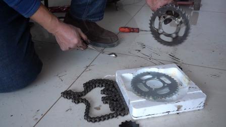 摩托车链条和大小链轮质量好坏怎么知道?教你一招让你轻松识别
