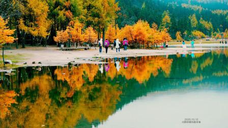 毕棚沟磐羊湖 海拔3676米的高山湖 环游川西山水录