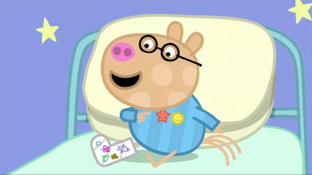 小猪佩奇:佩德罗住院很舒服,为了向同学炫耀,让护士随叫随到!