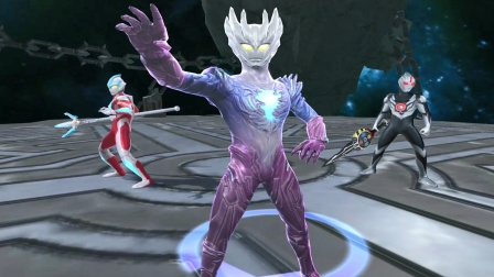 奥特曼宇宙英雄,赛迦奥特曼打败了马格马星人