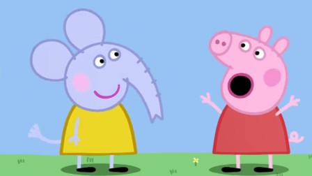 小猪佩奇:佩奇把帐篷当马戏团,还要表演马戏,给猪奶奶惊喜!
