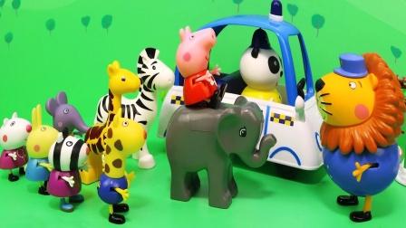 小猪佩奇在神秘动物园的欢乐聚会,都有哪些动物?