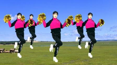 新年舞《牛气冲天》跳出喜庆,舞出健康,跳出好身材