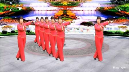 梦中的流星广场舞《牵着妈妈的手》舞蹈:凤梅