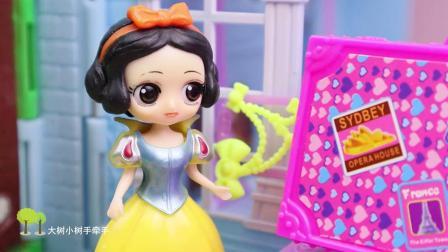 贝儿公主别贪心,虽然你救了花仙子,可是许愿也不能太过分