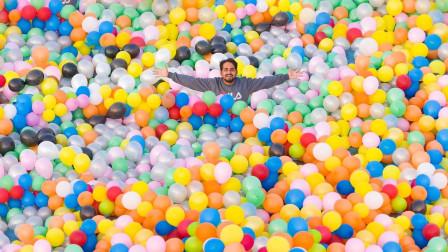 """1000个气球一起""""爆"""",画面到底有多燃?印度大佬太疯狂了!"""