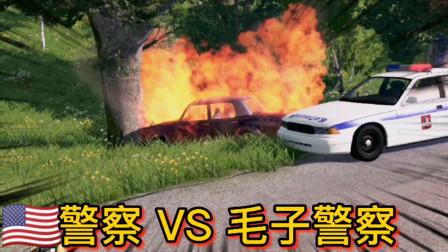 车祸模拟器241 美国Police执法 VS 战斗民族执法 你更爱哪个?