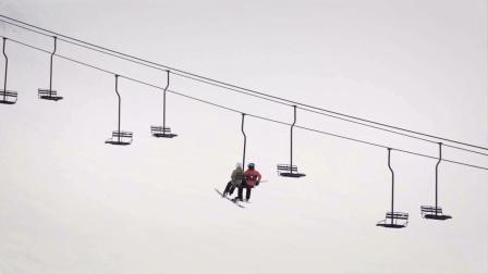 缆车改变滑雪方式 #字幕为王#