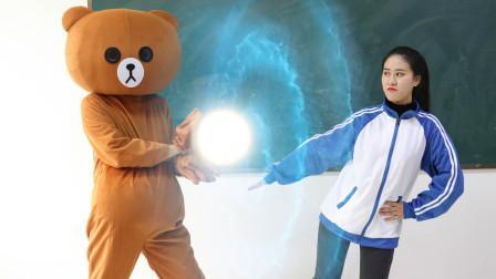 魔法学院5:上官红九为历练法术挑战魔法熊,初级魔法的她能成吗
