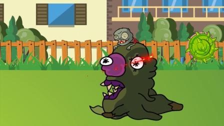 植物大战僵尸:怪物僵尸被打败