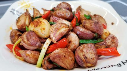 大蒜最好吃的做法,不用腌制,教你这样做1斤不够吃,比吃肉还香
