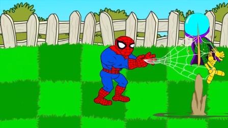 植物大战僵尸:蜘蛛侠来帮忙