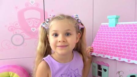美国儿童时尚,小萝莉在家做新造型,好开心呀