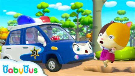 汽车游戏:大象开车在蘑菇上跑