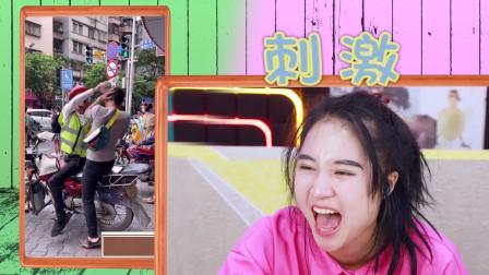 憋笑大挑战:温柔的小哥哥遇到暴躁的摩的司机,我忍不住笑了!