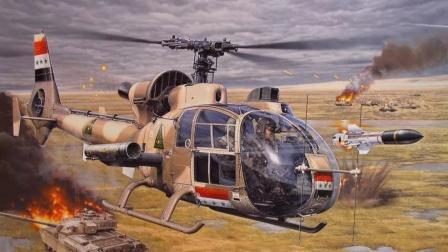 """上个世纪的武装直升机,代号""""小羚羊"""",有超过41个国家订购"""