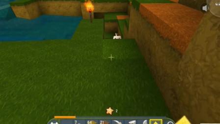 迷你世界:狗蛋背着二狗子带母鸡回家,结果怪物都找上门了