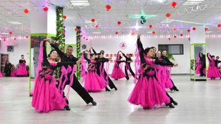 《九儿》瑞金市体育舞蹈训练基地学员年终汇报演出2021.1.24.