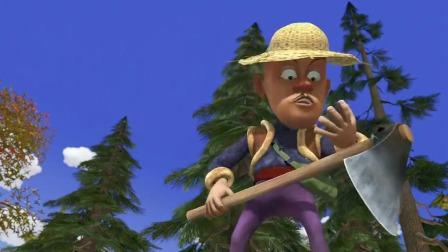 熊出没:把蜂蜜埋地下,熊二可真会藏,不被蚂蚁吃完才怪