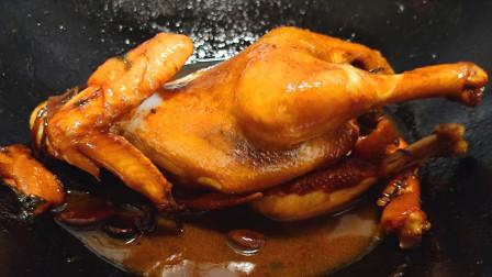 吃了30年的鸡,我家最爱这种做法,简单味道好,一个人能吃一只