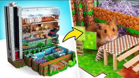 仓鼠的纸板赛道真是巧妙
