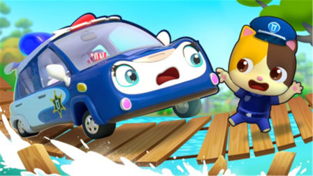汽车游戏:老山羊来赛车可好看