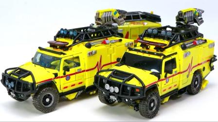 变形金刚电影大作报名定制-11 棘轮救护车机器人玩具.