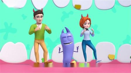 超级宝贝jojo:细菌很可怕哦,小宝贝们要勤洗手哦