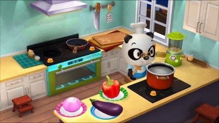 熊猫餐厅:大象先生要吃什么菜呢?