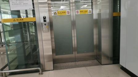 3号线福保站站内电梯