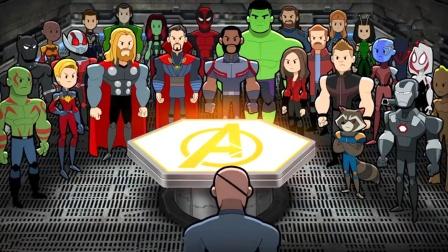 """地球陷入危机,10年未见的超级英雄们,再次集结上演""""复联5"""""""