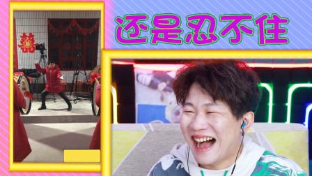 憋笑大挑战:大妈表演武术,肢体动作卡点很到位!