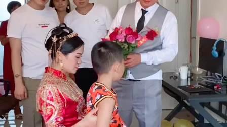 结婚当天才得知新娘有个儿子,结局亮了