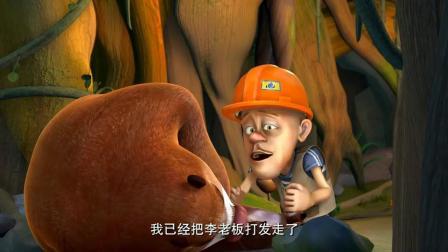 熊出没:彩票竟然不翼而飞了,强哥注定发不了财