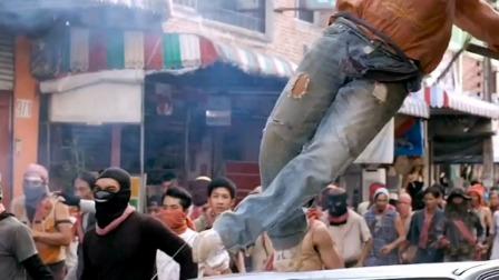 泰国旅游遇到暴乱,全城满是匪徒