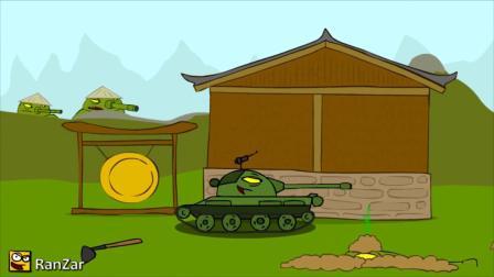 坦克世界:坦克阵势厉害