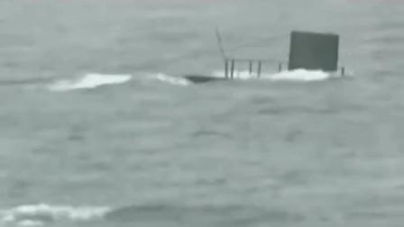 """第一枚潜射导弹""""巨浪1号""""发射全程,震撼人心!"""
