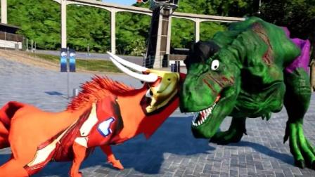 侏罗纪世界:绿巨人恐龙,模样憨憨的真招人喜欢