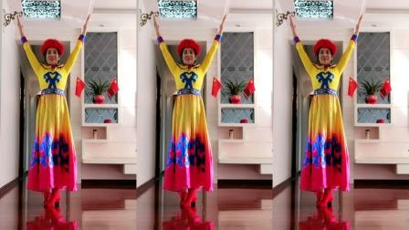 新余市陈香颐养民族舞班一美丽的草原我的家(编舞、表演、制作:李虹)