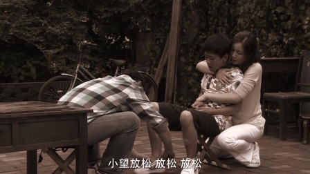 父亲当场发病,不料被孤独症儿子看见,下一秒超感人!