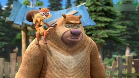 熊出没:出大事了,熊二竟把整个森林都毁了,熊大赶紧来求光头强