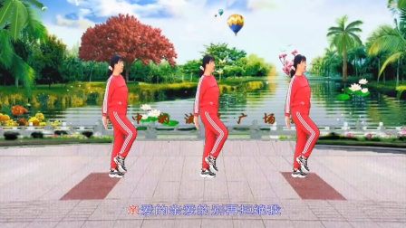 梦中的流星广场舞《爱情路上风雨多》舞蹈:凤梅