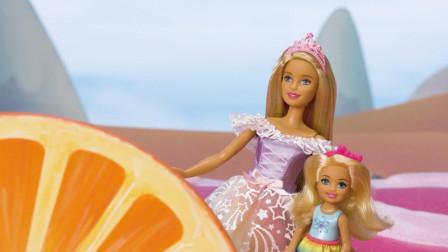 芭比和朋友们 梦境奇遇记之甜甜村的声音