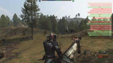 骑马与砍杀2霸主 崛起哥哥与可汗千人军团大战,多几百人险些崩溃!