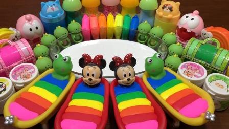 太壮观了!用玩具指甲油等46种材料混泥,无硼砂