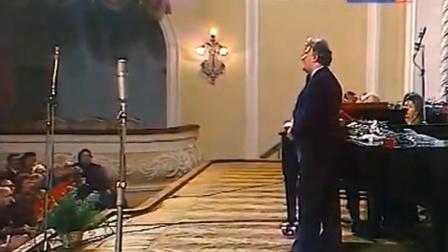 Nicolai GEDDA - Je crois entendre encore (Moscow. 1980)