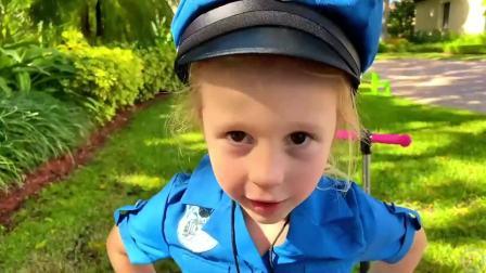 萌宝小可爱:小萝莉变身交通警察