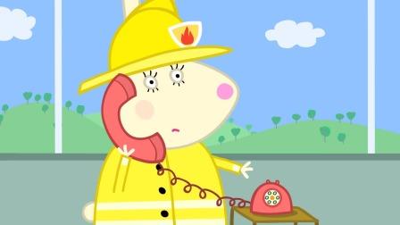 不小心起火了怎样做才最安全? 小猪佩奇安全教育 特辑 13
