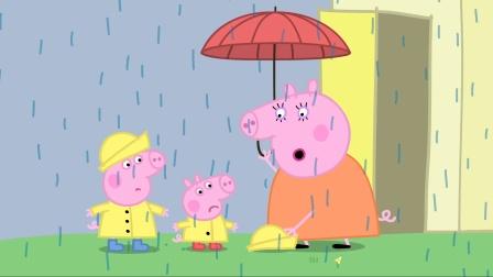 下雨天在外淋雨的后果是什么? 小猪佩奇安全教育 特辑 4